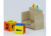 Block lịch gỗ